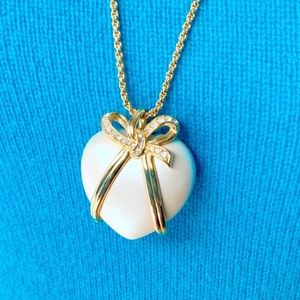 "Joan Rivers 30"" Heart Necklace"